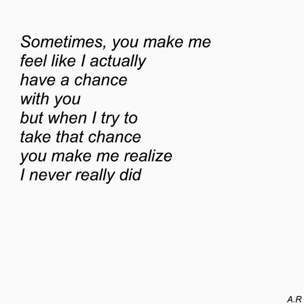 Sad quotes about your crush