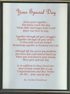 50th wedding anniversary speech for parents