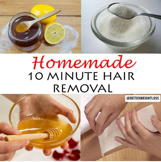How to make wax for hair removal