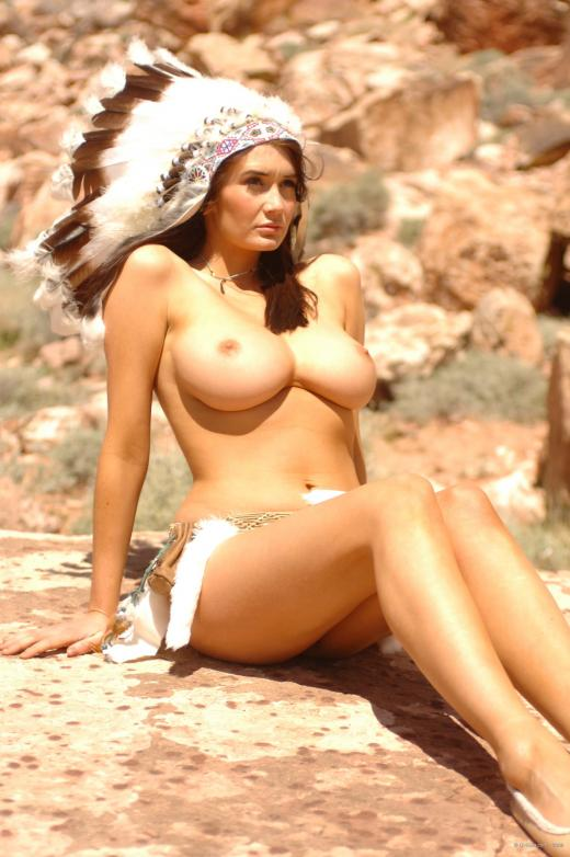 Sexy native american naked