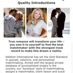 Kelleher international boston matchmaking service