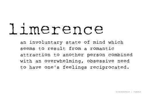 Limerence disorder