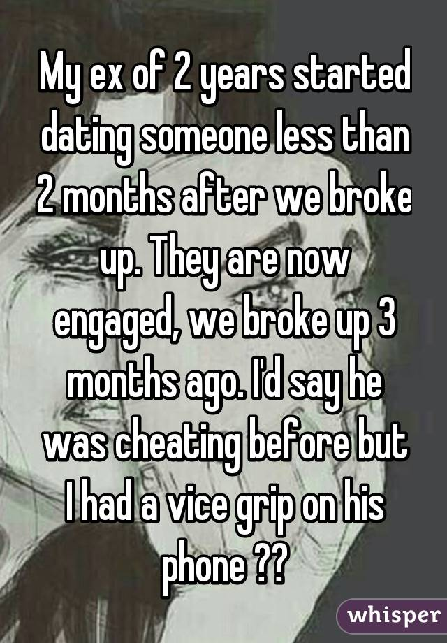Exclusive after 2 months of dating