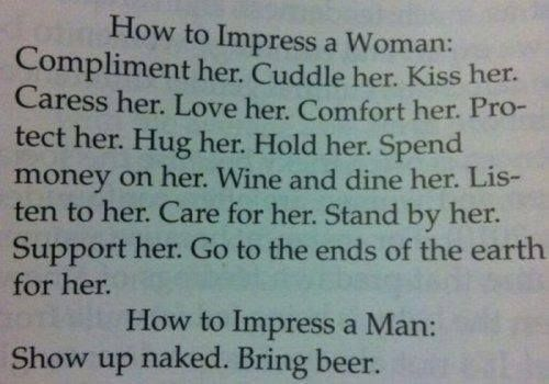 How to keep a woman