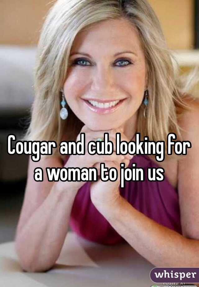 Looking for a woman to join us