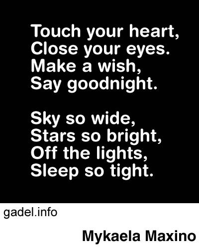Sweet things to say to your girlfriend goodnight