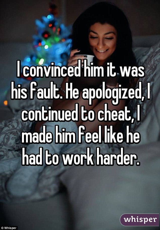 Why do i not feel guilty about cheating