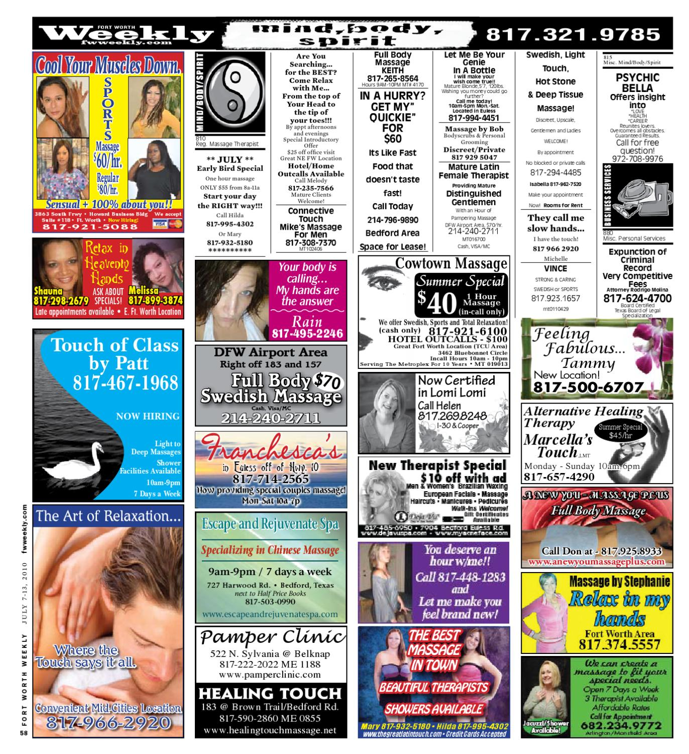 Fort worth weekly personals