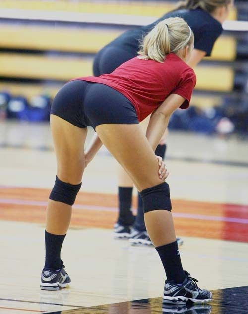 Chive volleyball shorts