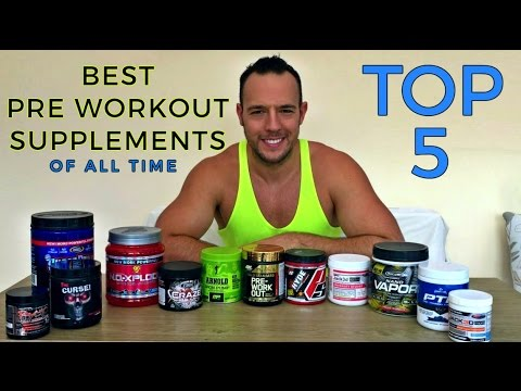 Top 5 best pre workout supplements