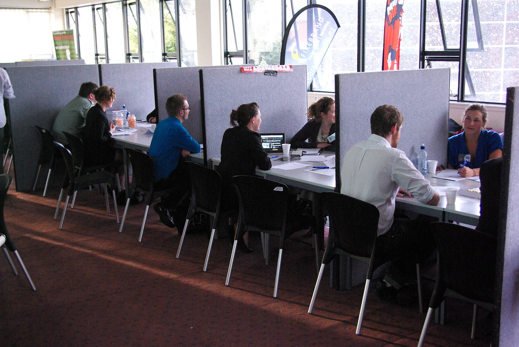 What is speed dating interview