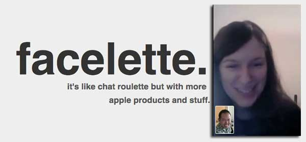 Chatroulette for ipod