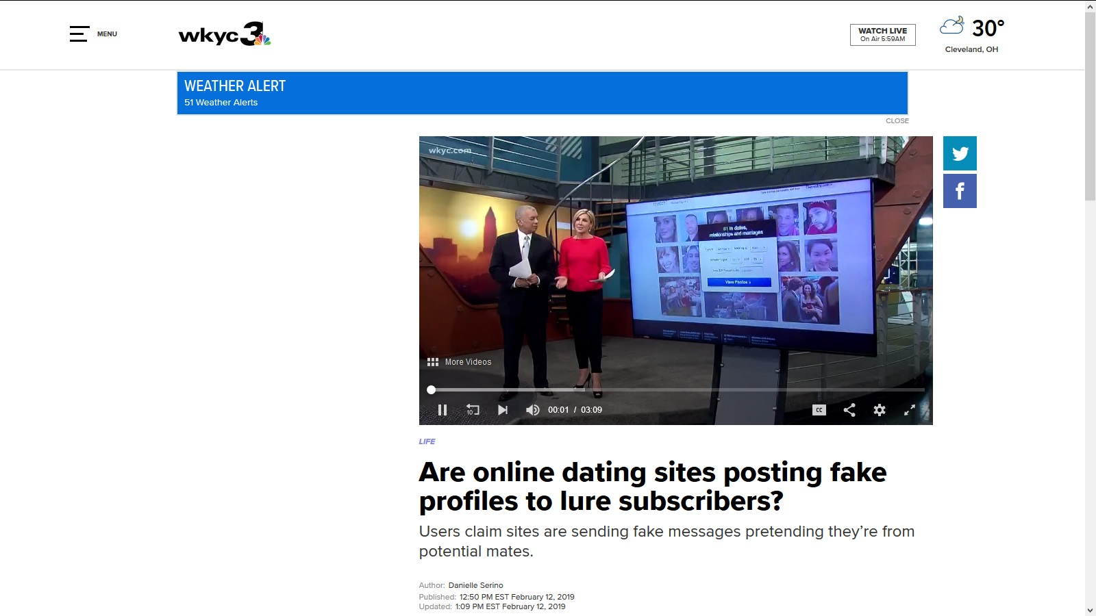 Online dating site blogs