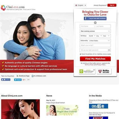 List of china dating site