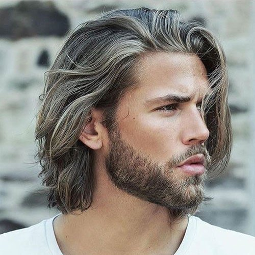 Haircuts for long hair for men