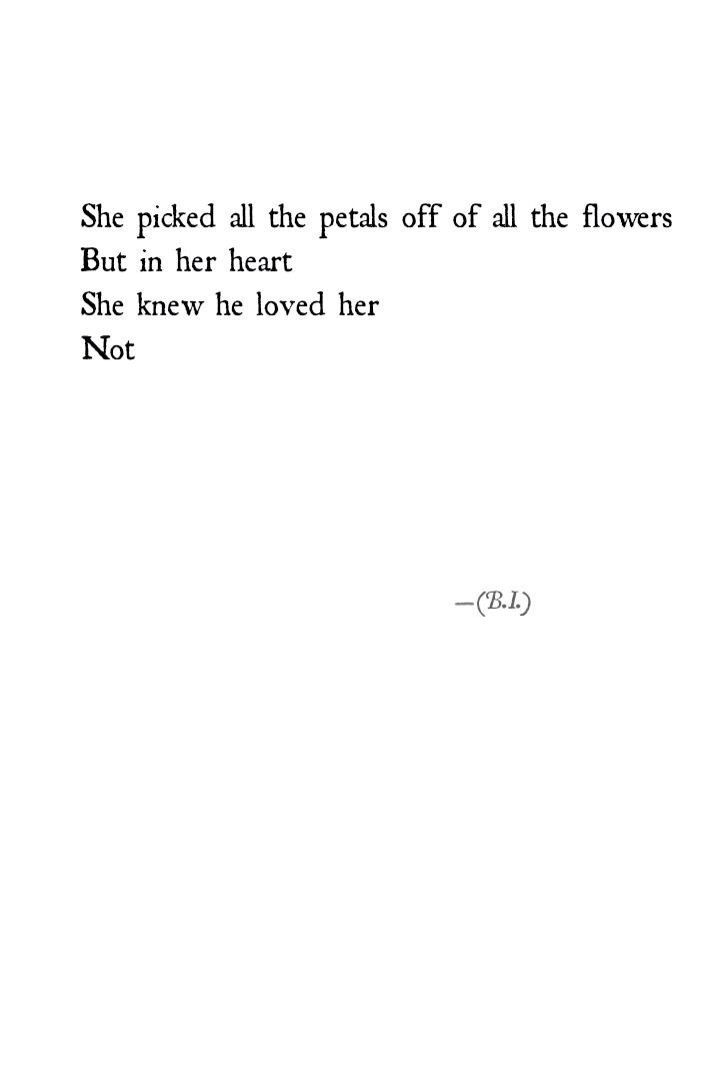 He loves me not quotes
