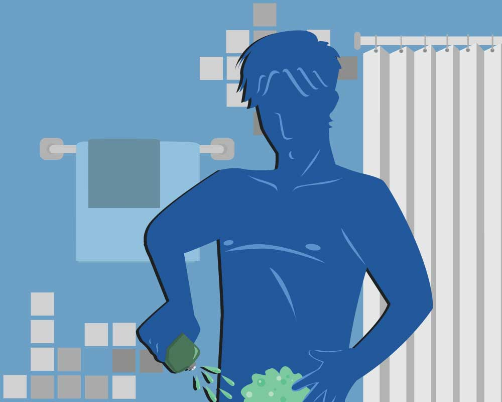 How to remove hair from male genitalia