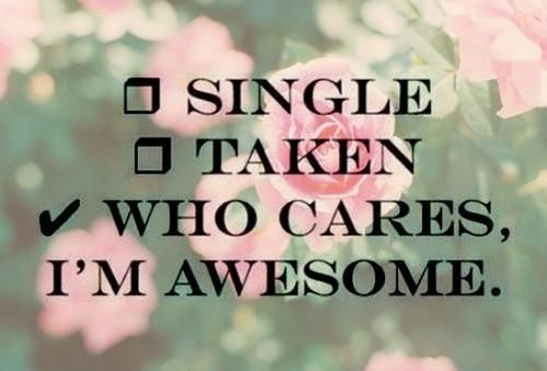 Great things about being single