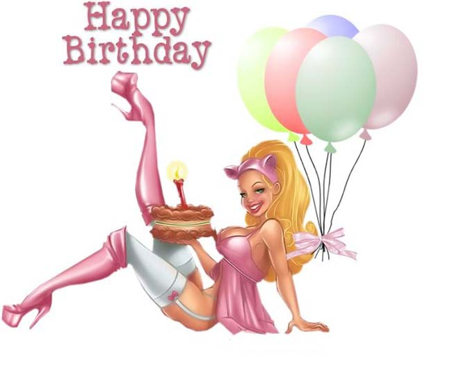 Sexy birthday wishes pictures