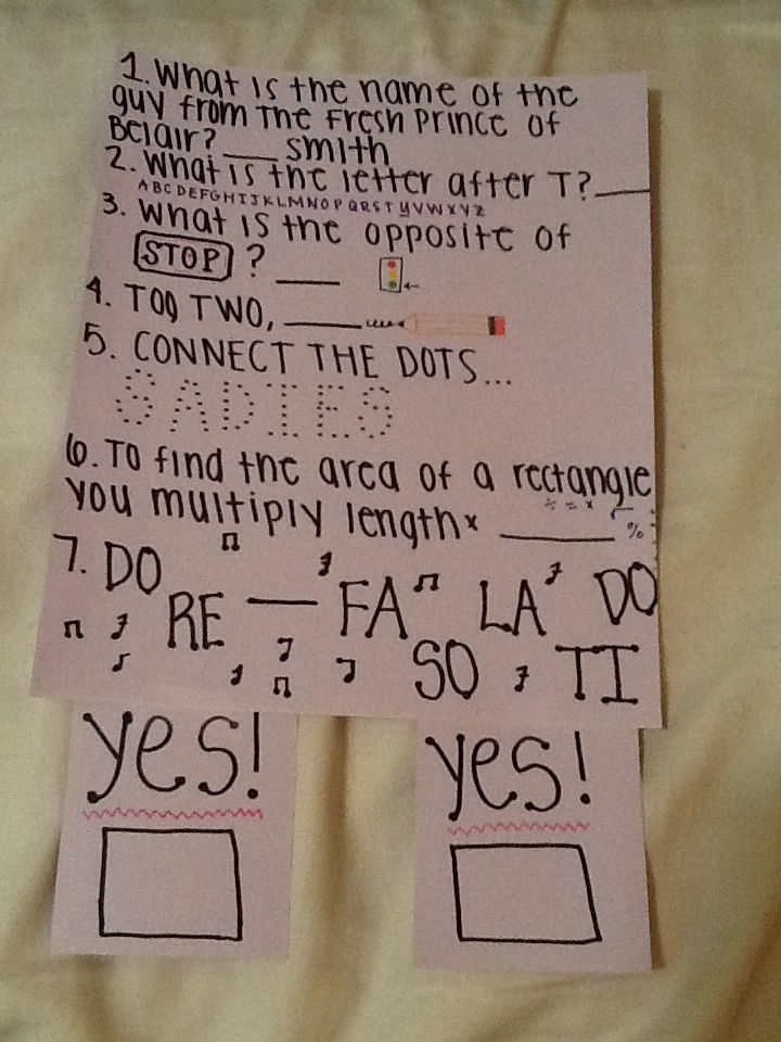 How to ask a boy to sadie hawkins dance