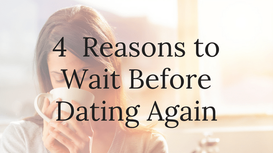 Dating right after separation