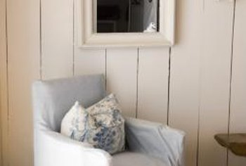 Ideas for updating wood paneling