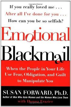 Emotional blackmail book