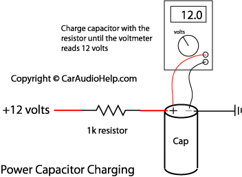 Best way to hook up capacitor