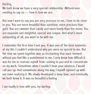 Birthday letters to girlfriend