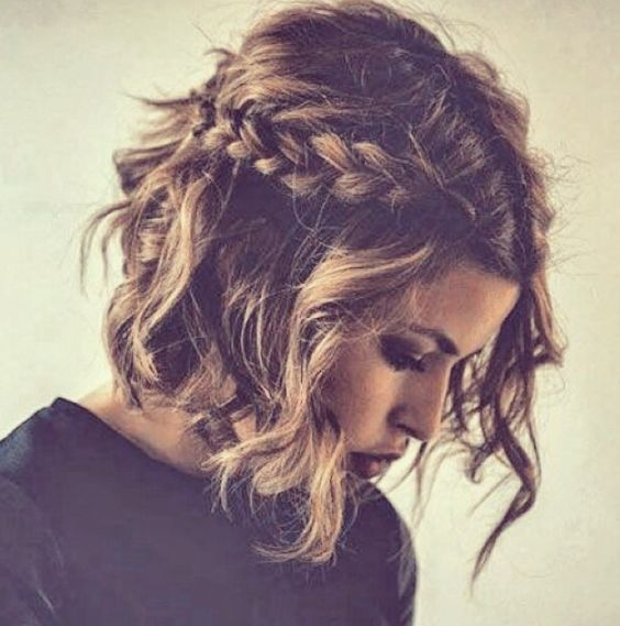 Boho hairstyles for medium length hair
