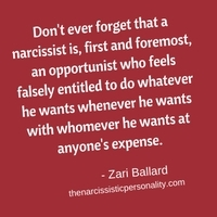 Break up with narcissist