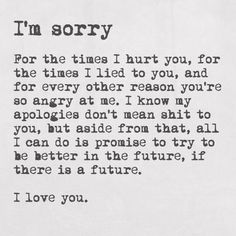 Apology letter for your boyfriend
