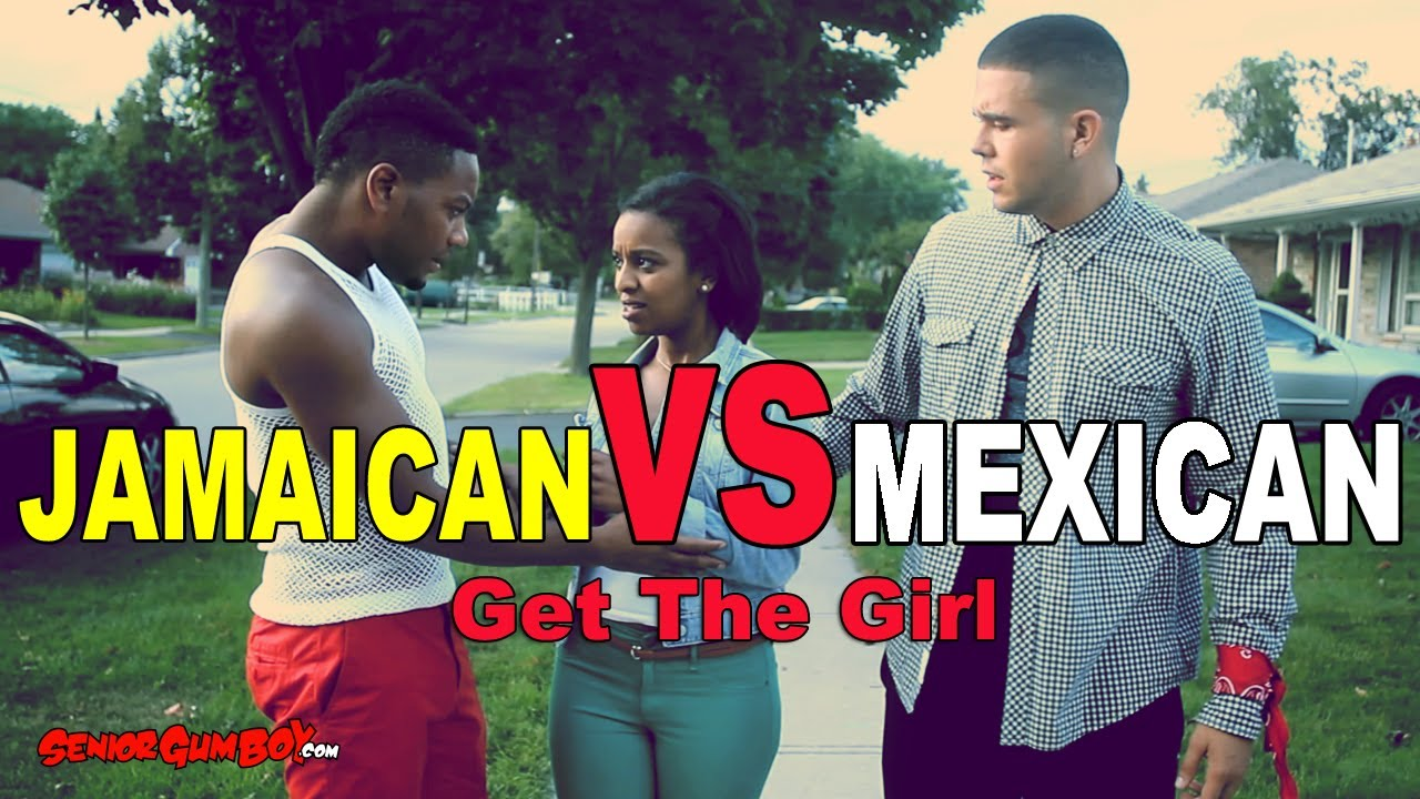 Mexican girls and black guys