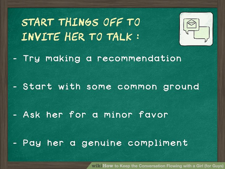Conversations to have with a girlfriend