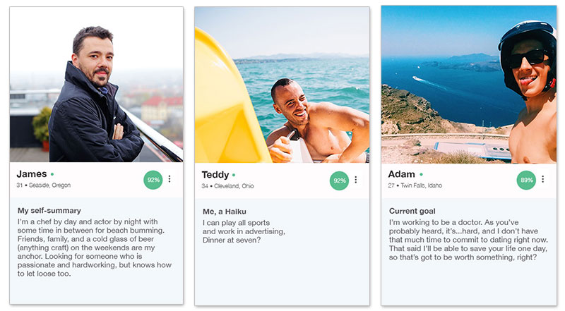 Creating a good online dating profile on okcupid