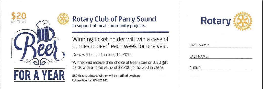 Beer for a year club