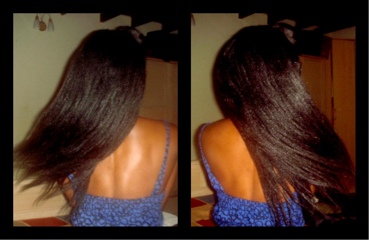 Deep conditioning treatment for relaxed hair