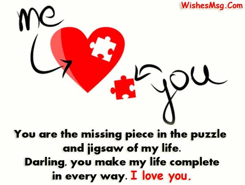 I love you wishes for girlfriend