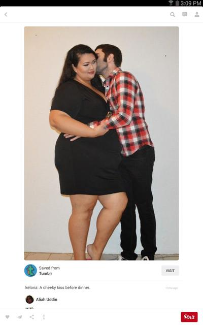 Dating a plus size girl