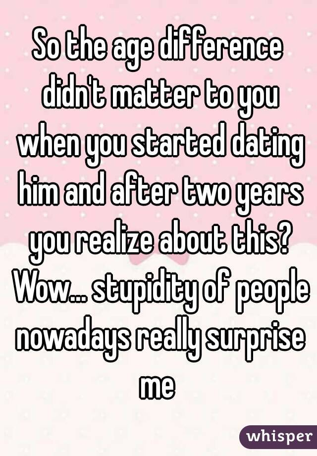 Dating different nowadays