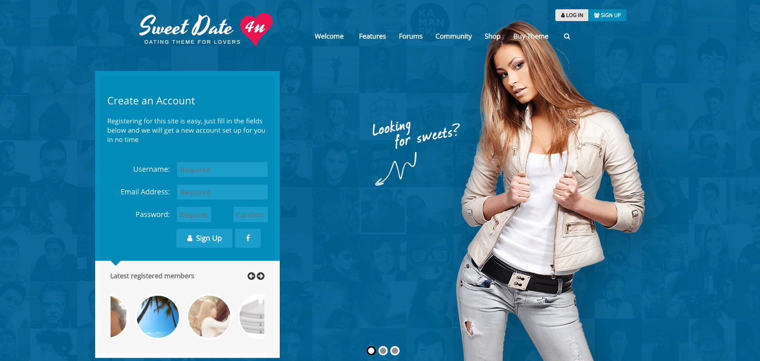 Dating website profits