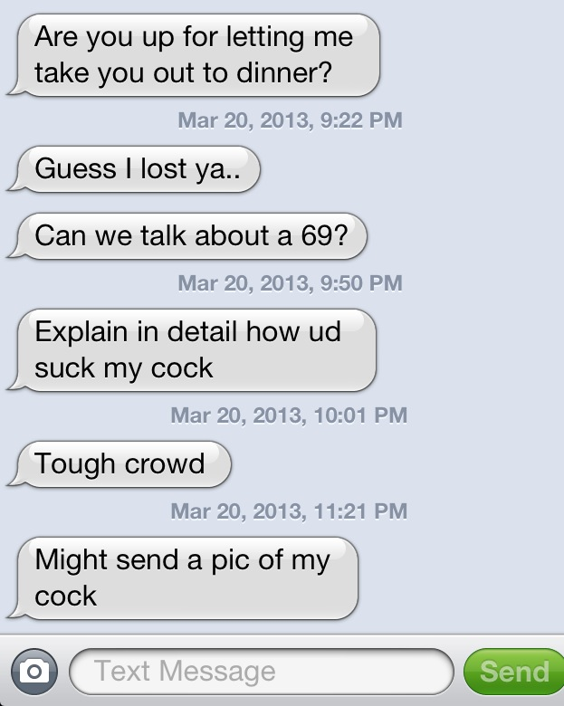 Dirty talking text messages for him