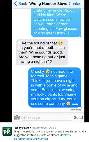 Dirty talking text messages to guys examples
