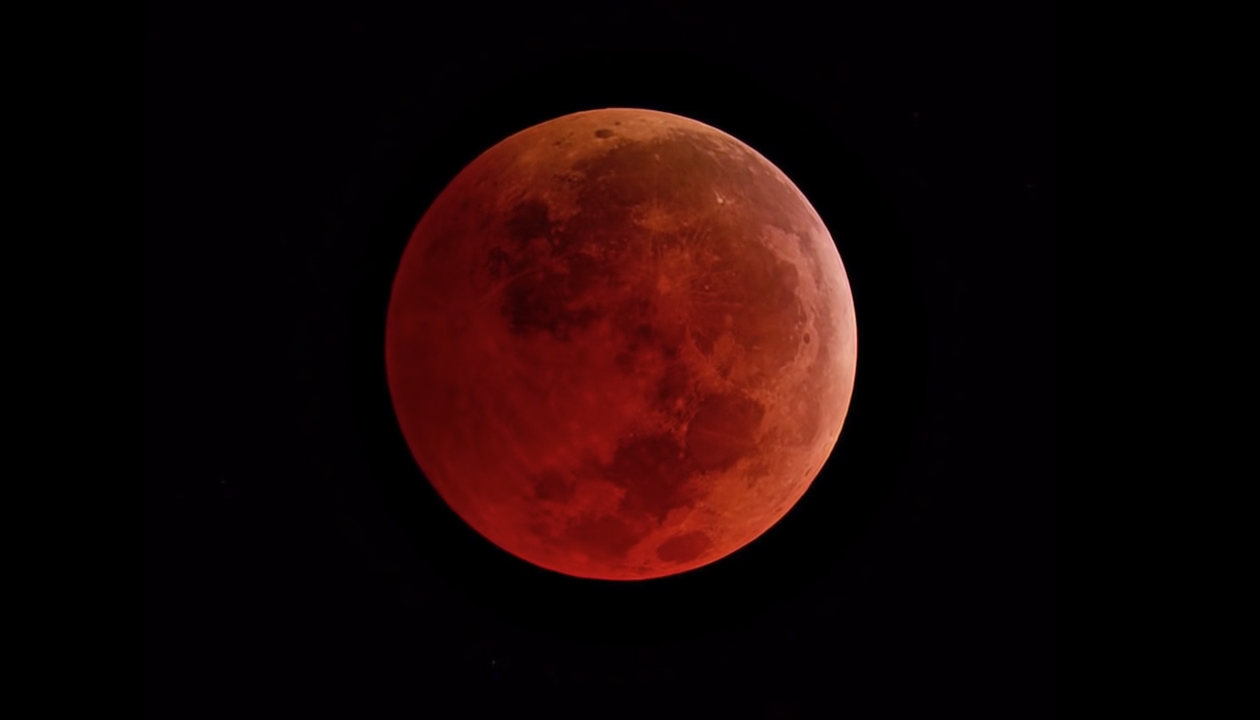 When is the blood moon happening tonight