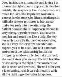What to know about capricorn woman