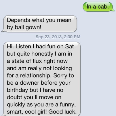 Good way to break up with a girl
