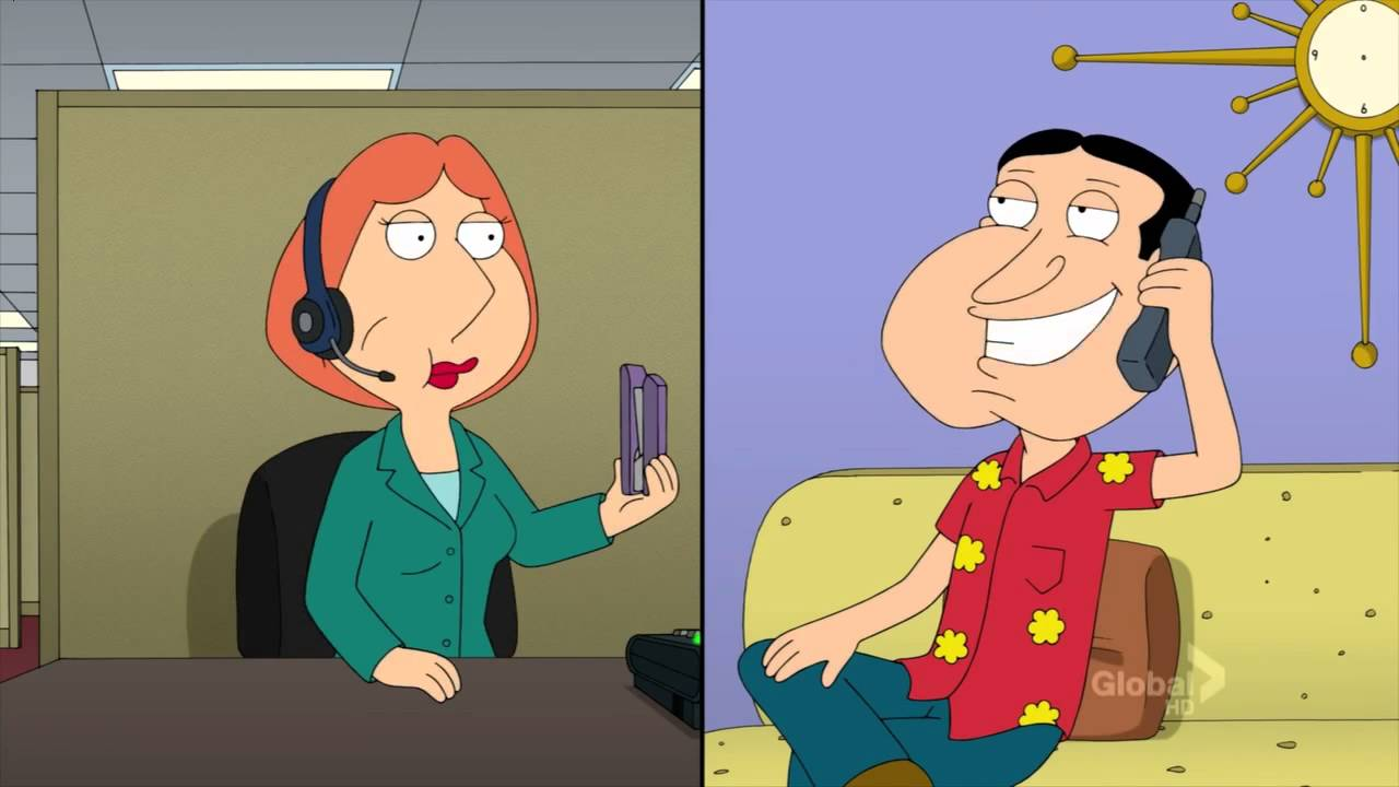 Lois griffin and quagmire