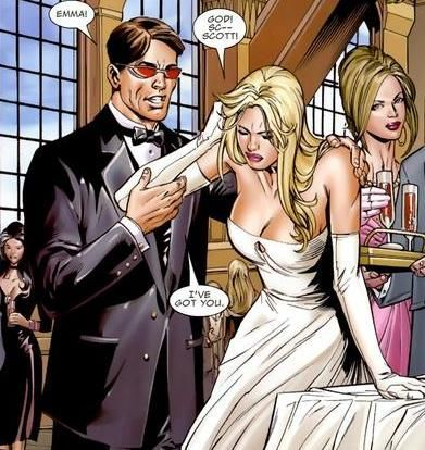 Emma frost and scott summers