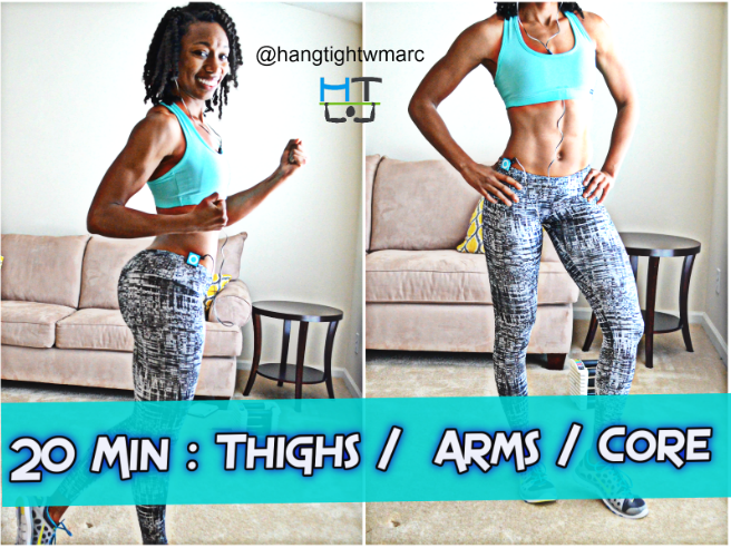 Exercises for flabby arms and thighs