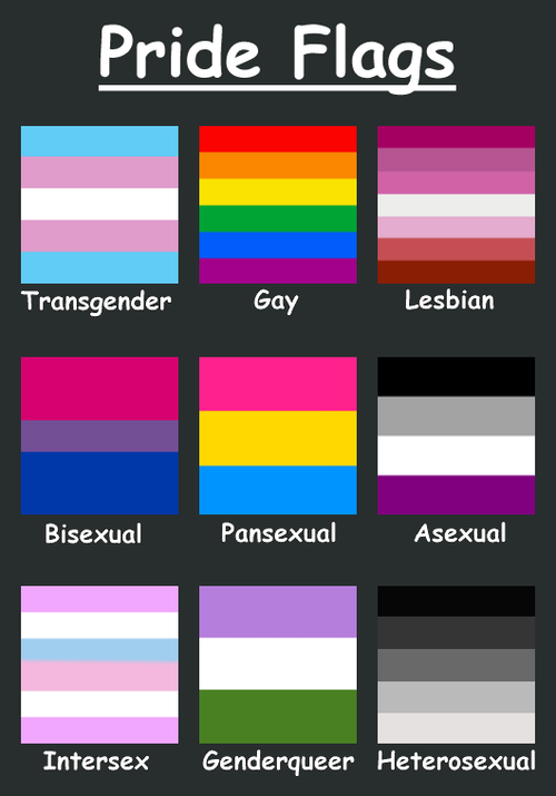 All different types of sexuality